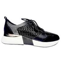 Sneaker cuir pour femme de REQINS IloeTressée collection/hiver