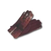 gants fermeture zip pour Femme en polyester/coton Via Lorenzo