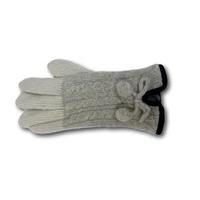 Gants pour femme en polyester , angora , laine Via Lorenzo