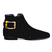 Boots pour femme de REQINS Noir       MINI PRIX