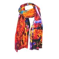 Echarpe pour Femme  polyester, coton Via Lorenzo PROMO