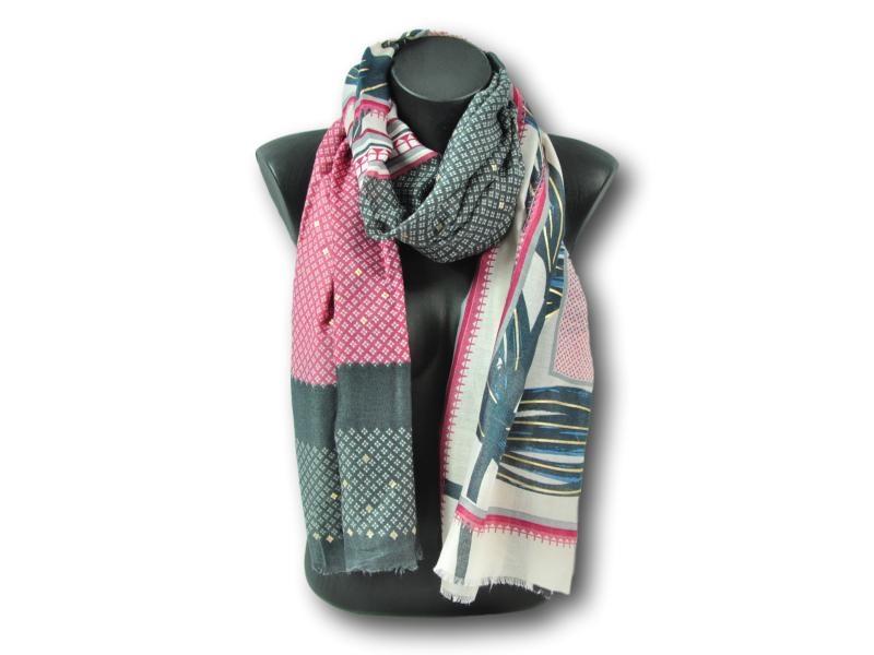 Echarpe pour Femme en polyester,viscose Via Lorenzo