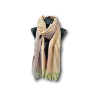 Echarpe pour Femme en polyester Via Lorenzo rose