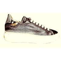 Sneakers basse Cuir  femme Platine /été 2020 PROMO 10jours