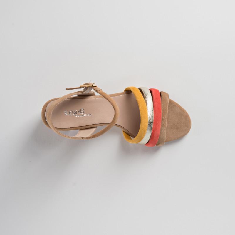 Sandale nu-pieds Talons  Reqins femme (MINI PRIX)