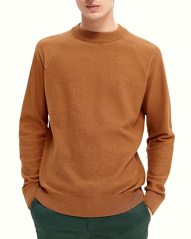 Scotch & Soda Pull homme 164010 Marron NewHiver