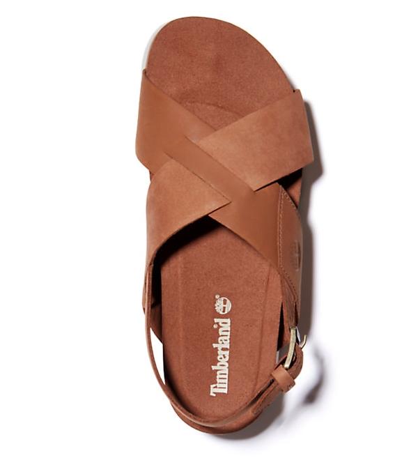 Nu_pieds, nubuck leather Femme de Timberlant saison été