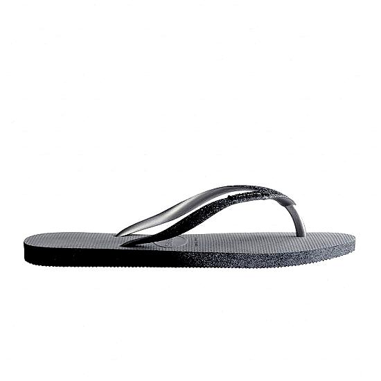 HAVAIANAS Tong Slim Sparkle Femme Sand / Grey