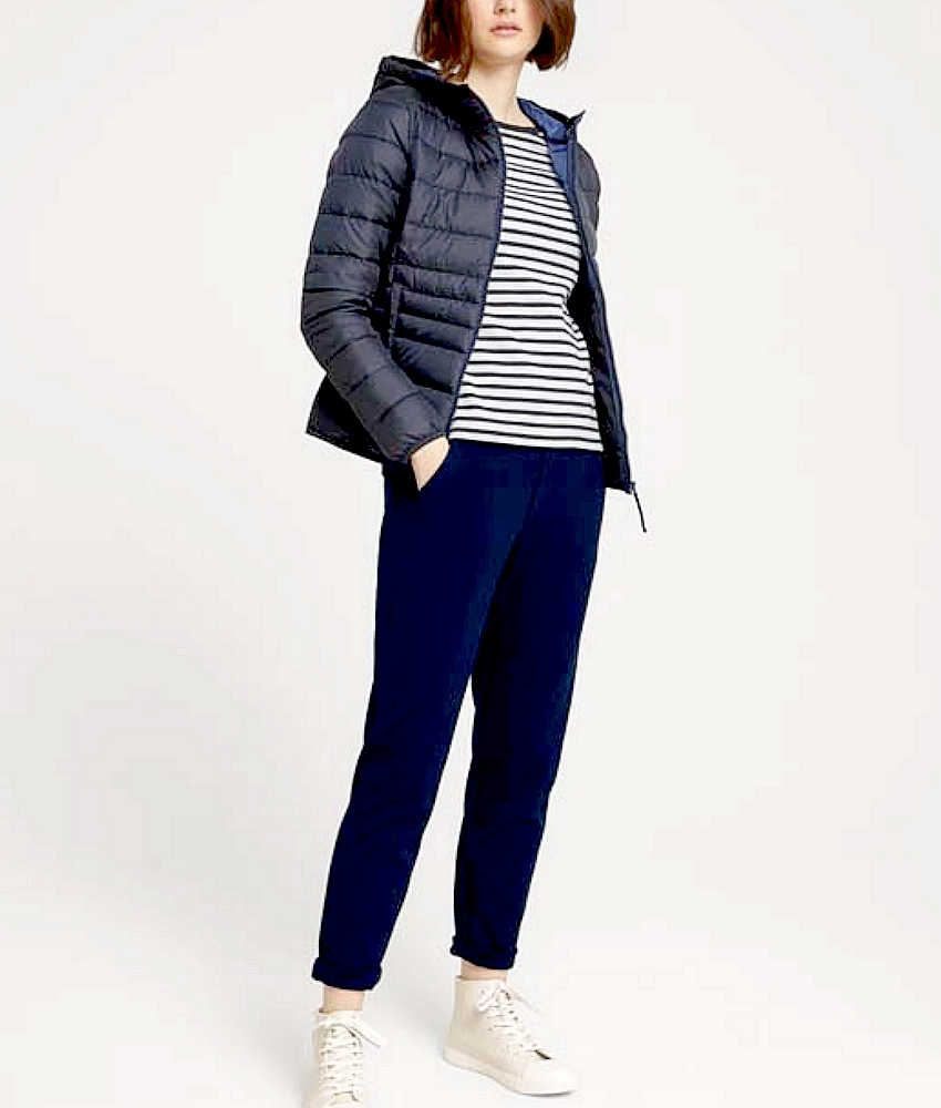 TomTailor  1026548 Doudoune Ml femme Marine New/collection