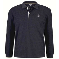 Polo TomTailor manche longue Marine homme collection hiver