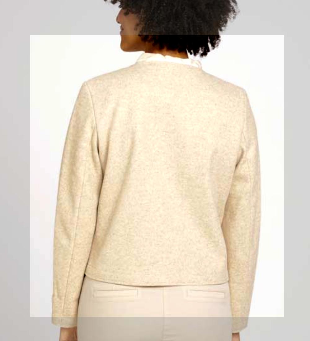 TomTailor  Blazer col rond femme,  Beige  1027280 new/collection