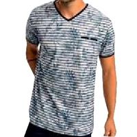 T.Shirt homme Manches courtes Benson & Cherry  Marine