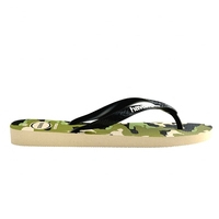 HAVAIANAS Tong  homme Top Camu Green Olive