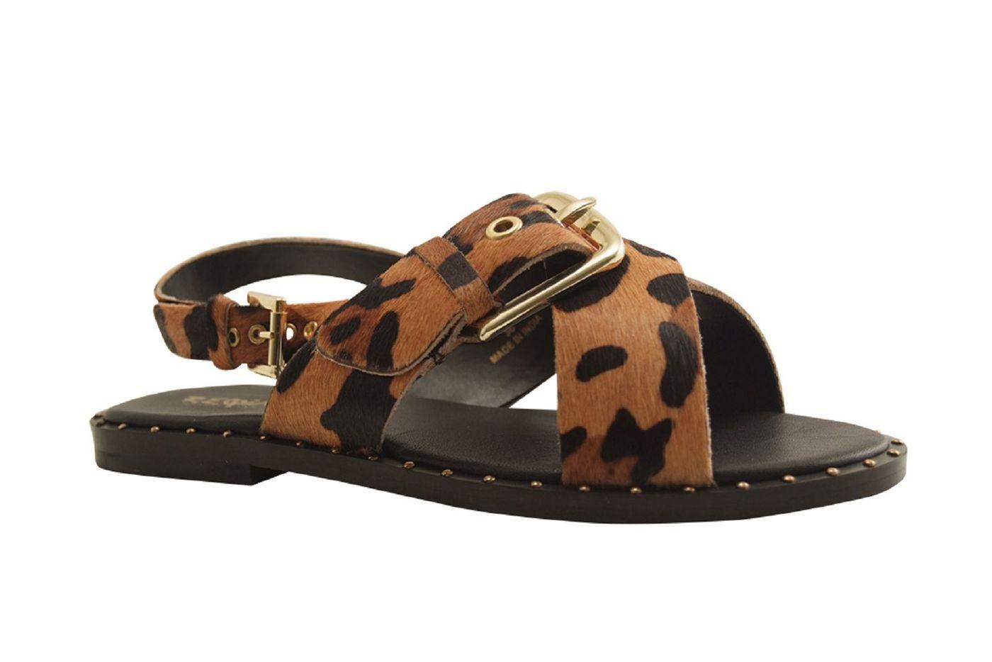 Sandale nu-pieds pour Femme de  REQINS (camel)