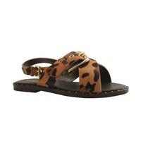 Sandale nu-pieds pour Femme de  REQINS (camel) PROMO
