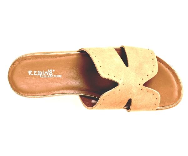 Sandale nu-pieds talon de 4.5cm  Femme de  REQINS (été)